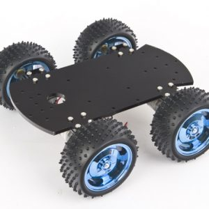 4WD metal smart car chassis