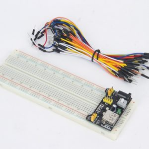830 hole breadboard+power module+ 65 colorful lines