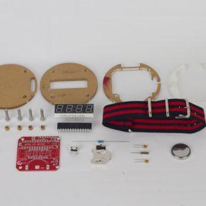 DIY wearable Arduino watch