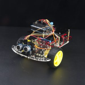 Ultrasonic DIY Arduino Car