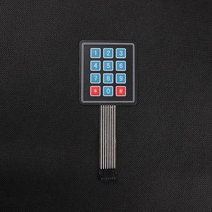 3*4 matrix keypad
